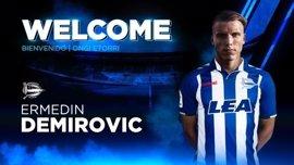El Alavés ficha al joven delantero bosnio Ermedin Demirovic