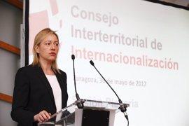 Gastón defiende la transformación digital y de tamaño de las pymes aragonesas para buscar nuevos mercados