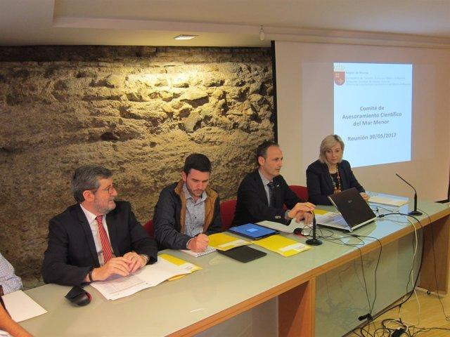 Celdrán preside el Comité Asesor Científico del Mar Menor