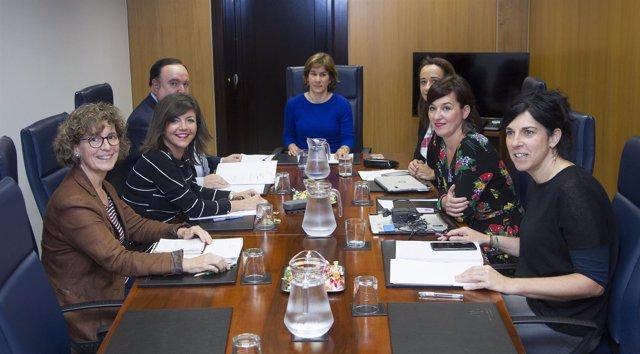 Comisión en el Parlamento vasco