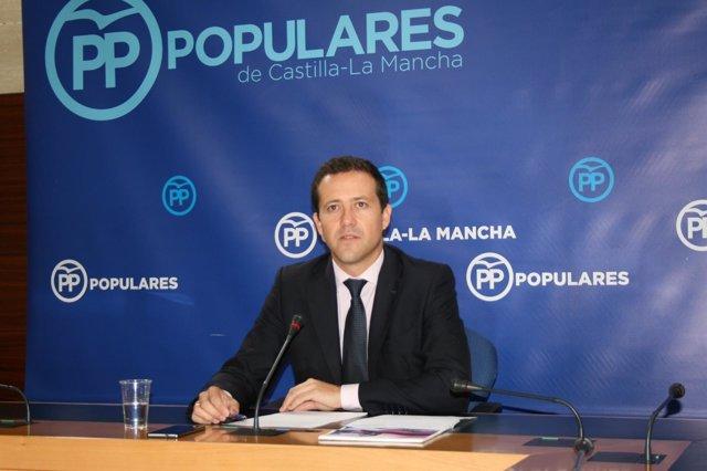 Gpp Clm (Cortes De Voz Y Fotografía) El Portavoz Adjunto, Carlos Velázquez, En R
