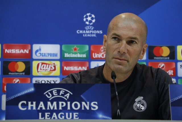 Zinedine Zidane (Real Madrid) en rueda de prensa