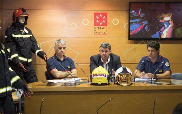 Ndp La Diputación Sitúa A Los Bomberos De La Provincia A La Vanguardia Mundial E