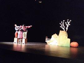 El Teatro Cervantes acoge la clausura de la 31 Muestra de Teatro con la participación de casi 400 escolares