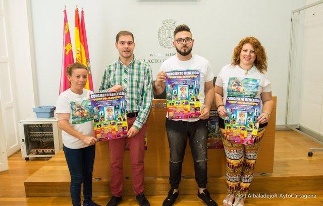 Presentación gala benéfica 'Todos con Andresito'