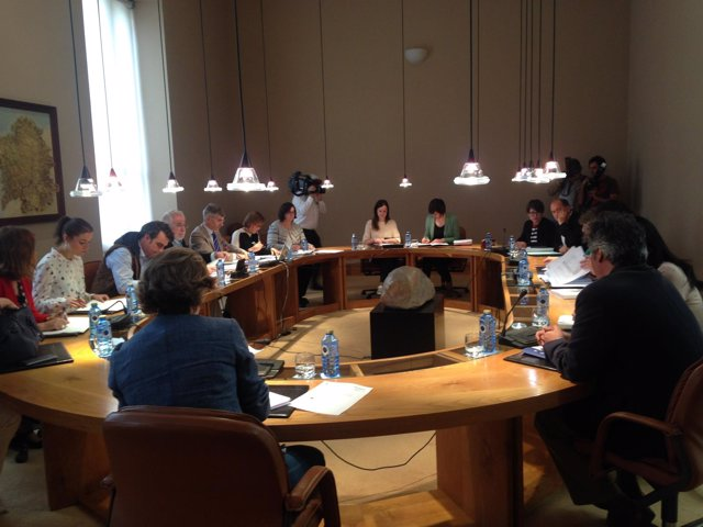 Xunta de Portavoces del 30 de mayo en el Parlamento de Galicia.