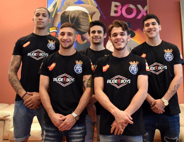Selección española de boxeo que disputará los Campeonatos de Europa