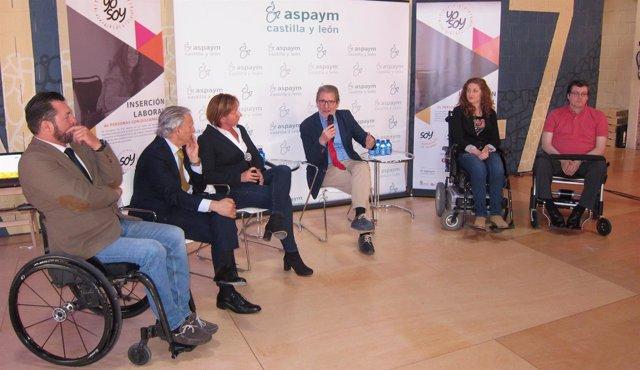 Presentación de la campaña 'Yo soy' de Aspaym