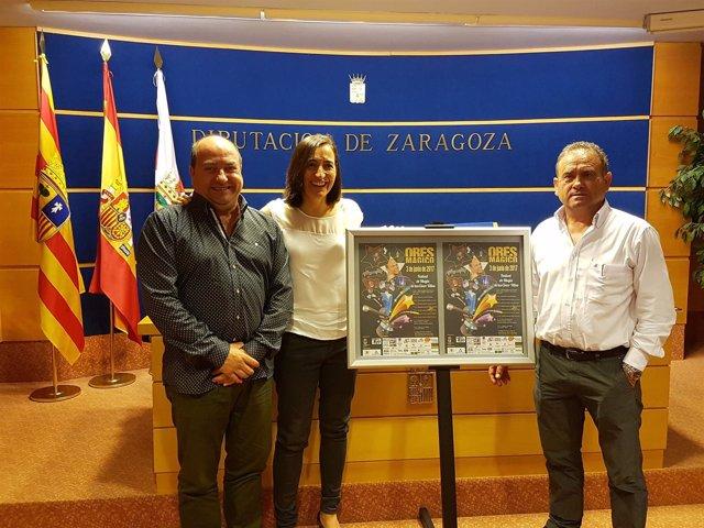Santos Navarro, Cristina Palacín y Antonio Campos