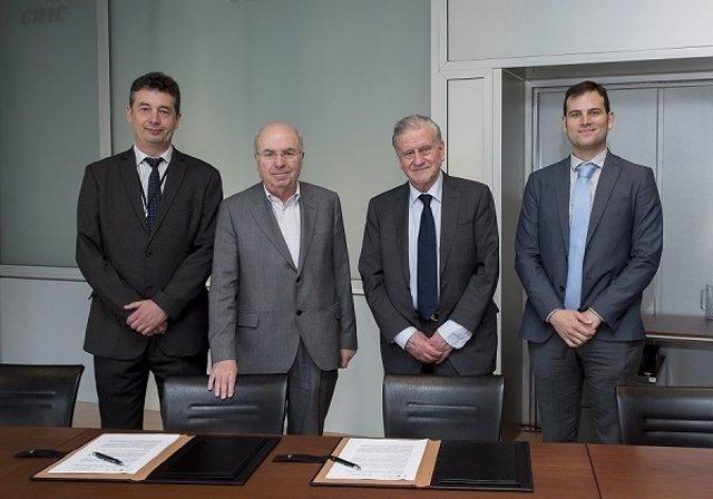 Acuerdo entre el CNIC y la Fundación Pasqual Maragall