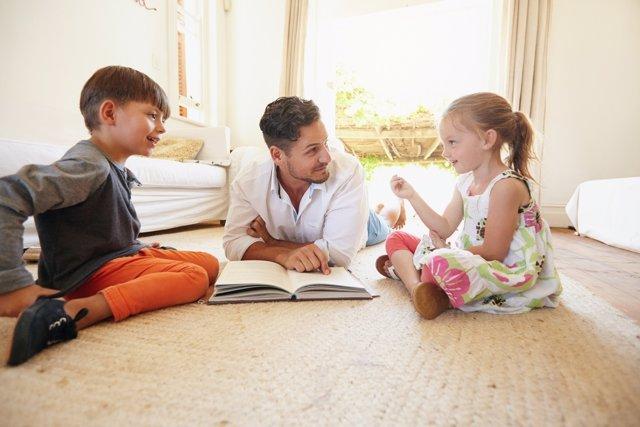 El esfuerzo de educar a los niños