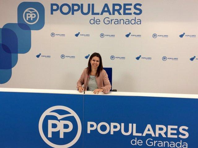 La parlamentaria andaluza del PP Ana Vanessa García