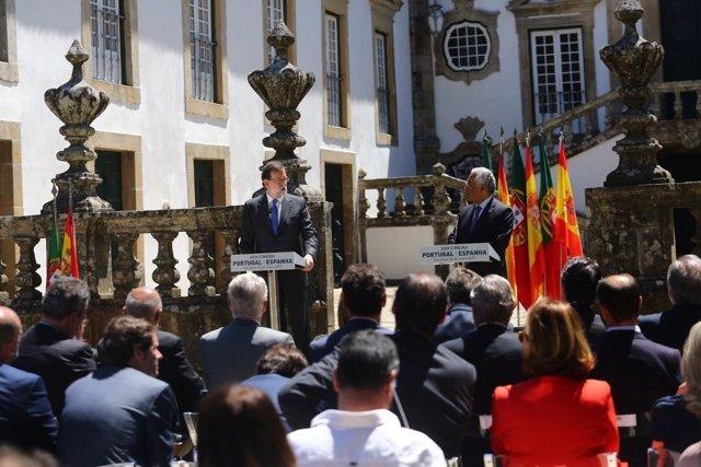 Rueda de prensa de Rajoy y del primer ministro de Portugal