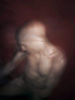 Fotografía de la exposición de Antoine d'Agata en PHotoEspaña