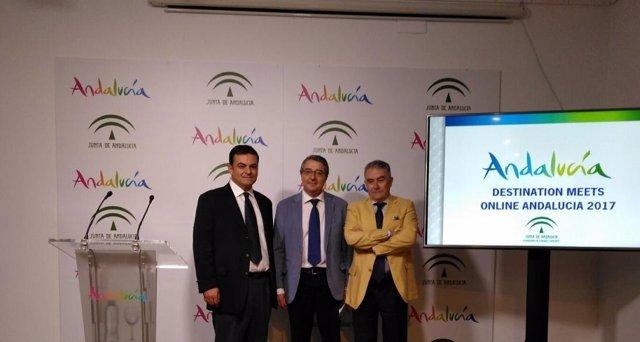 Presentacion congreso destination meets manuel muñoz turismo andaluz salado