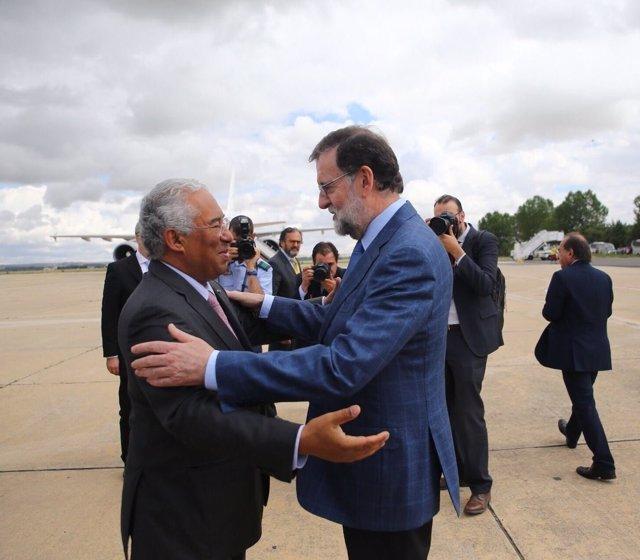Rajoy se reúne con Antonio Costa en la Cumbre Luso-Española