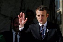 Macron se reúne con una delegación del principal órgano opositor sirio
