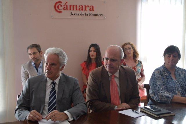Subdelegado del Gobierno en la Cámara de Comercio de Jerez