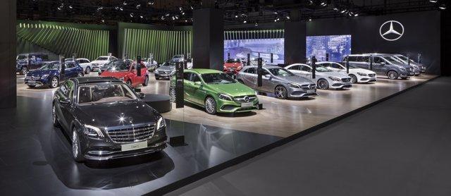 Mercedes-Benz en el Automobile Barcelona 2017