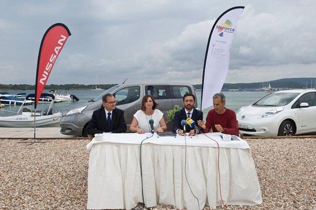 Acuerdo entre Nissan y Menorca