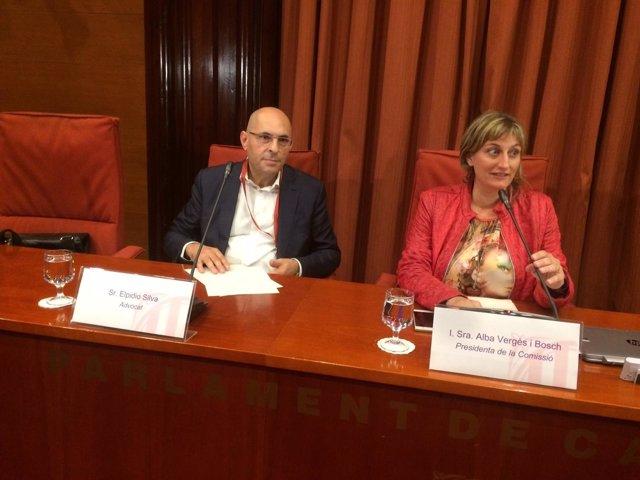 El juez Elpidio Silva, Alba Vergés (ERC): comisión del la 'operación Catalunya'