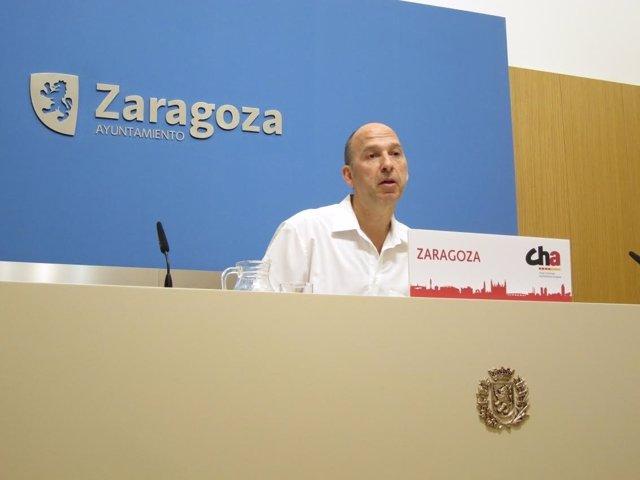 Carmelo Asensio, edil de CHA