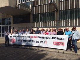 """UGT y CCOO advierten del """"alarmante aumento de siniestralidad"""" en la provincia de Córdoba"""