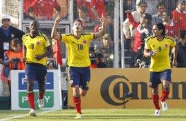 James y Falcao lideran la lista de Colombia para los amistosos ante España y Camerún