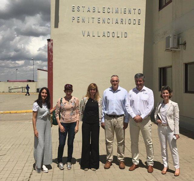 Presentación en la prisión de Valladolid del proyecto 'Reinicia'