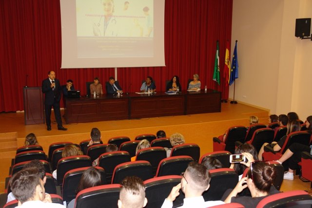 Jornada sobre la internacionalización del grado de Enfermería.
