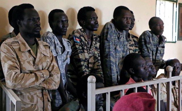 Soldados sursudaneses acusados de asesinar y violar a cooperantes en Yuba