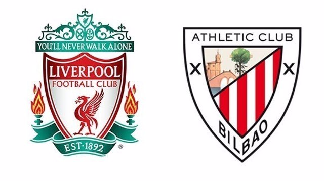 Escudos de Liverpool y Athletic