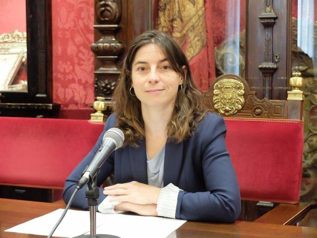 La portavoz municipal de Vamos Granada, Marta Gutiérrez
