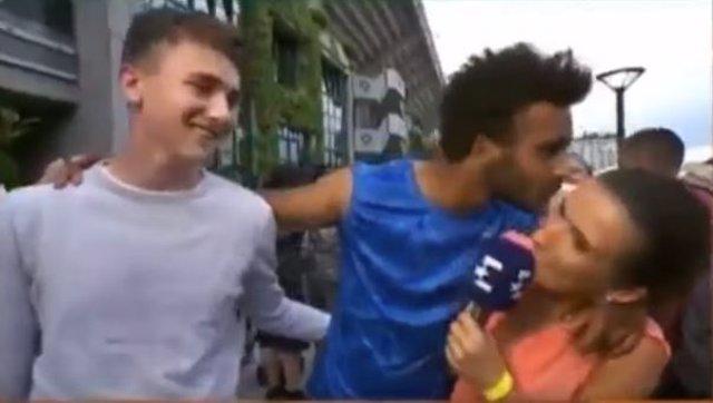 El tenista francés Maxime Hamou, expulsado por acosar a una periodista