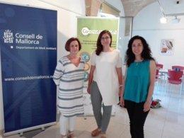 Inauguración de la exposición 'Gent jove i reciclatge creatiu'