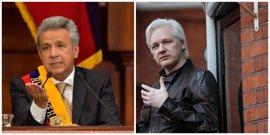 """""""Soy periodista y editor"""", Assange responde a Moreno"""