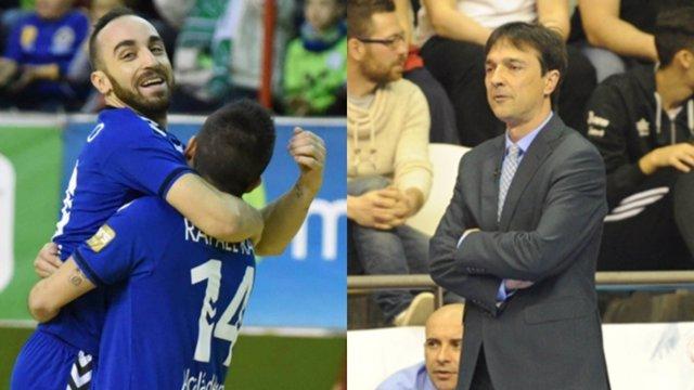 Ricardinho e Imanol Arregui, mejores de la temporada