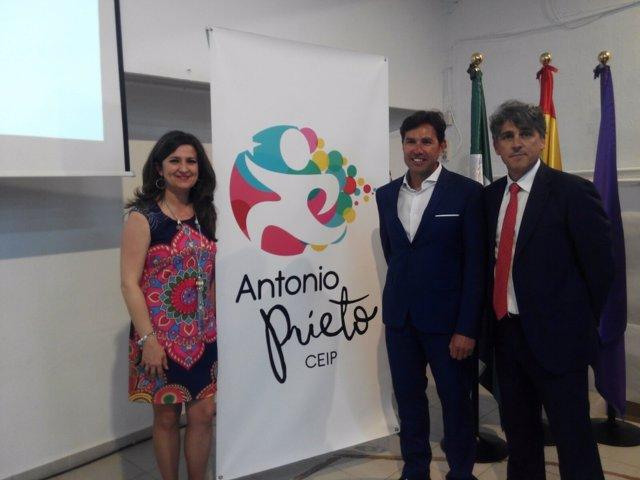 Acto de inauguración del CEIP 'Antonio Prieto' de Jaén
