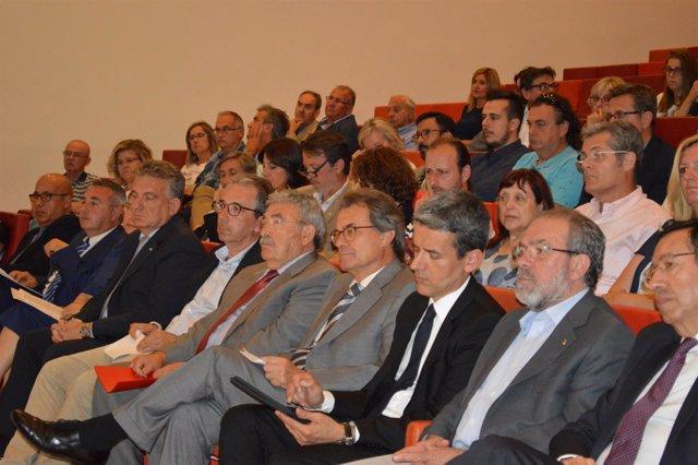 Artur Mas en un acto en Lleida