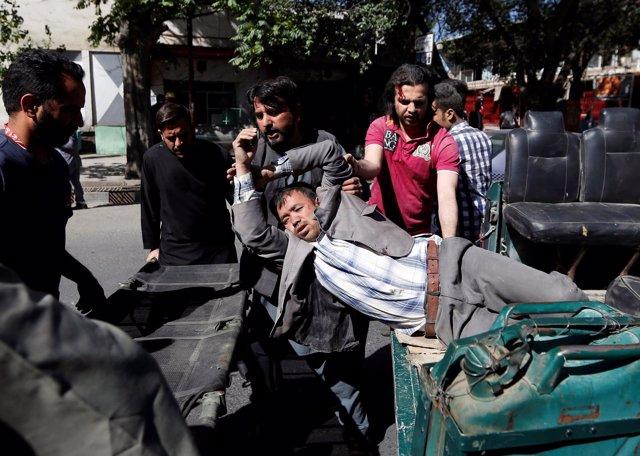 Atentado suicida en Kabul