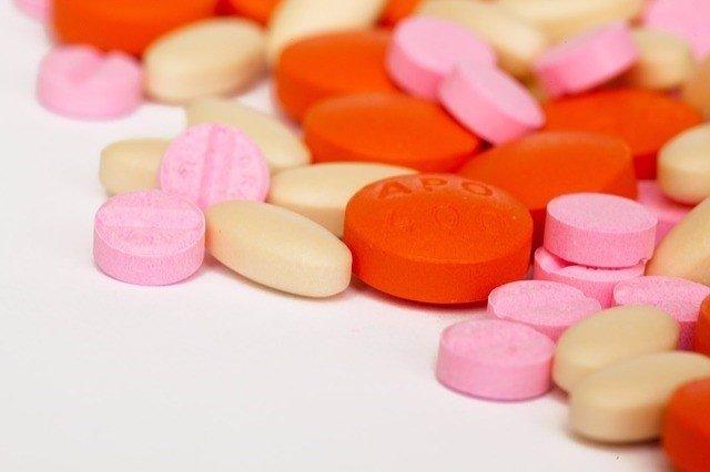 Antibiótico, pastillas, medicina.