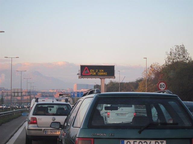 Retenciones en la autopista Y.