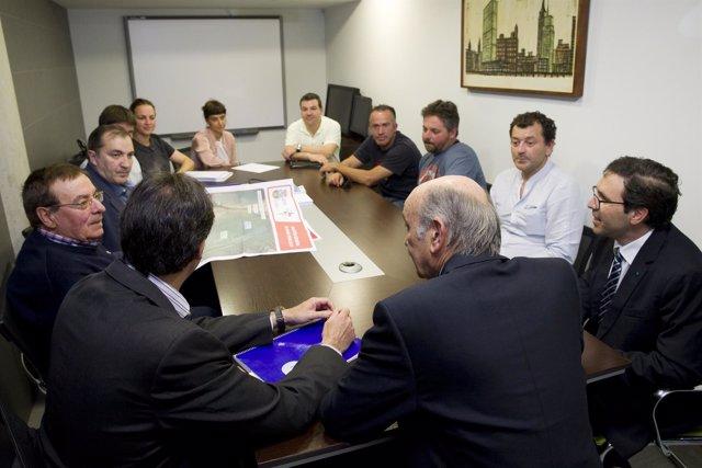 Mazón en la reunión