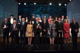 Premiados del 'Día de Canarias'