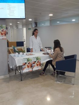 Imagen de la campaña informativa del Hospital Quirónsalud
