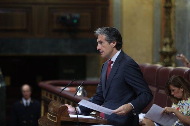Iñigo de la Serna en el debate de Presupuestos en el Congreso