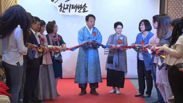 Inauguración del 2do Festival de Cultura Coreana.