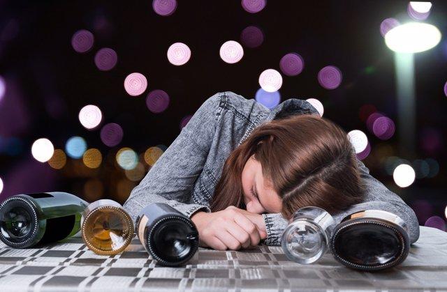 El alcohol es un serio problema entre los jóvenes