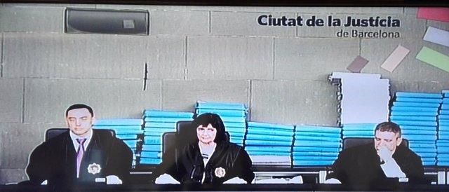 El tribunal que juzga el caso Palau