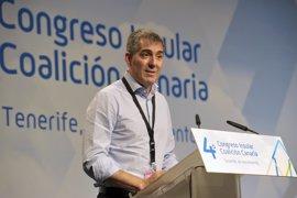 """Clavijo asegura que si fuera """"un obstáculo"""" para la unidad del nacionalismo canario, se quitaría """"del medio"""""""